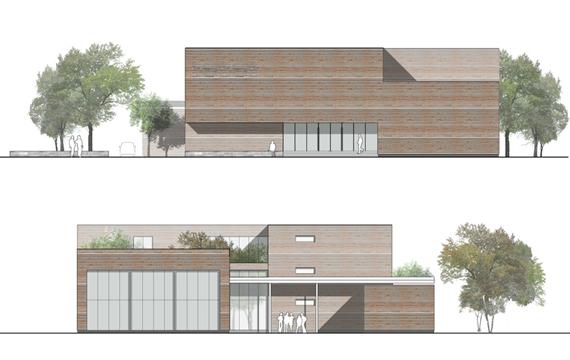 Montefalcone weigert architects - Finestre prospetto ...